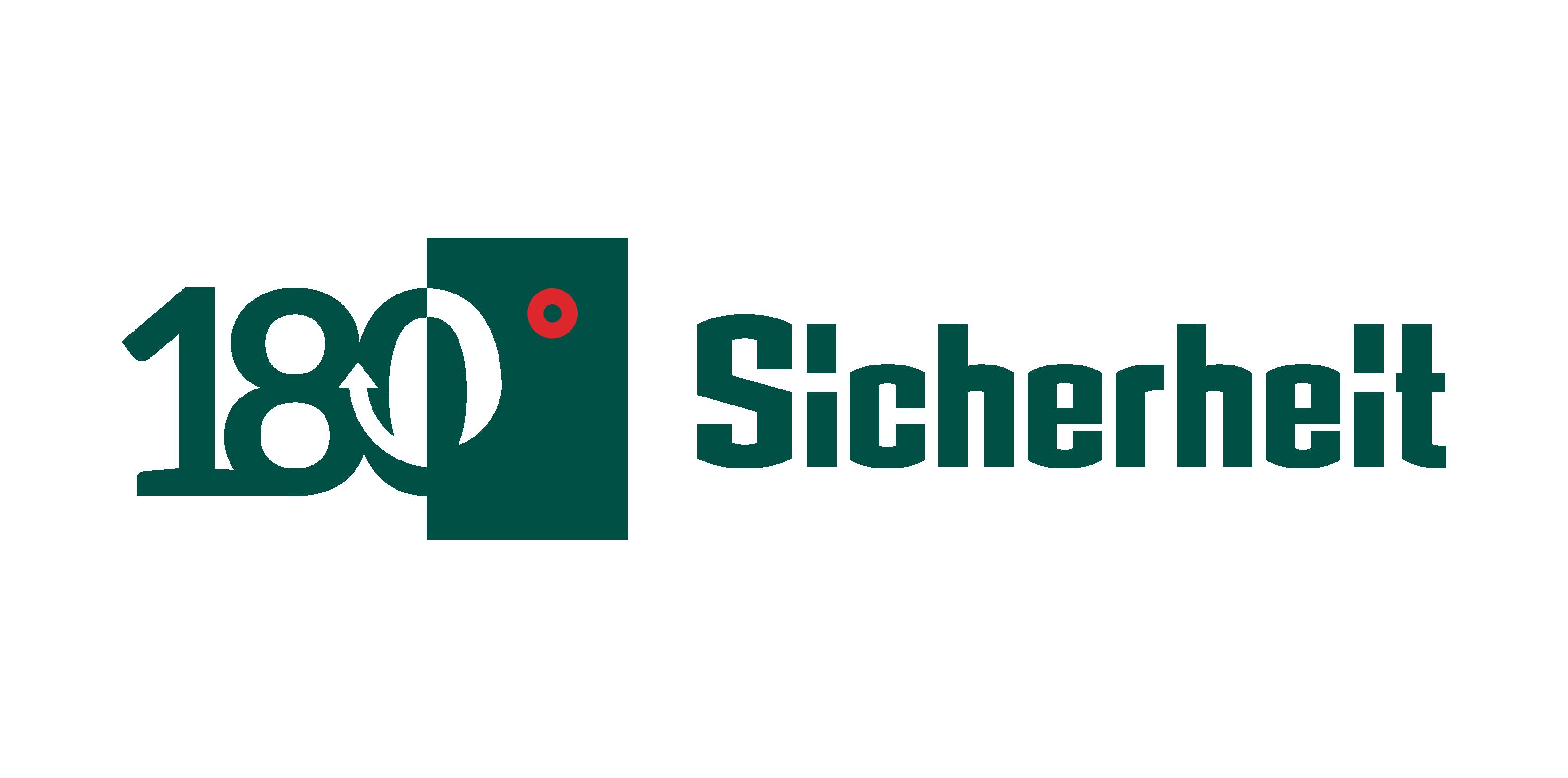 Logo 180° Sicherheit.